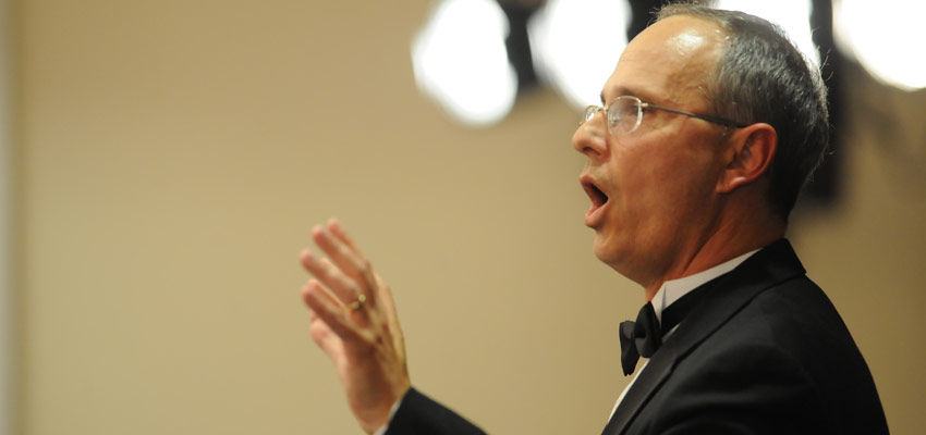 Dr. Don Trott, director of University of Mississippi Choral Activities.