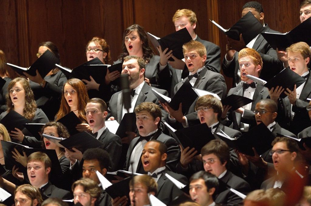 University Chorus performs Verdi's Requiem with the Mississippi Symphony Orchestra.