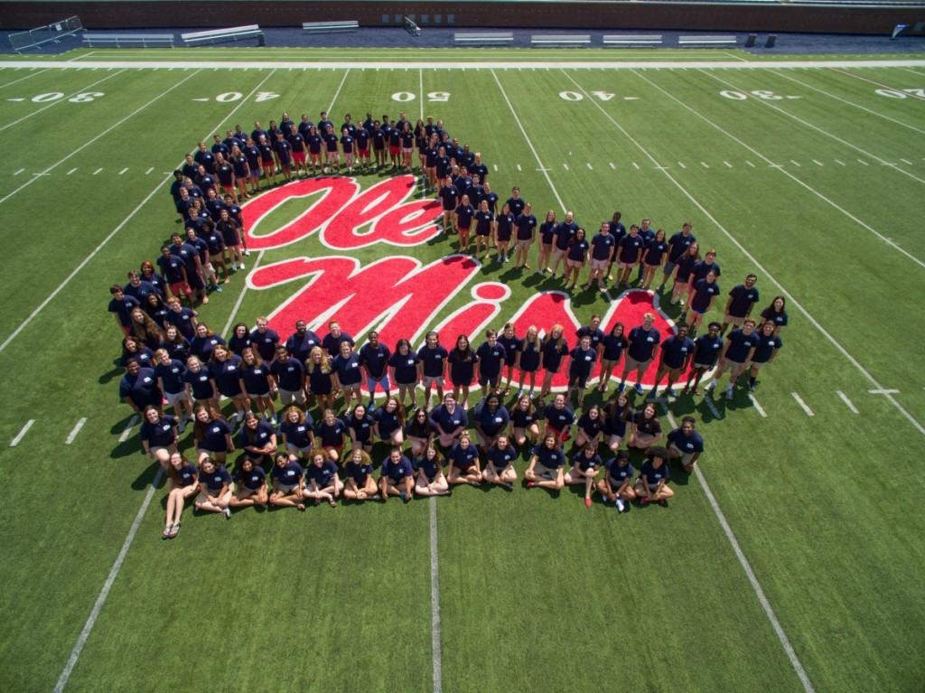 2015-16 Ole Miss Choirs at Vaught-Hemingway Stadium