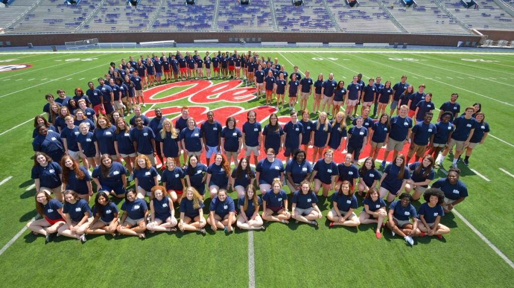 2015-16 Ole Miss Choirs at Vaught-Hemingway Stadium